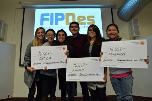 vignette Awards for FIPDes Master students