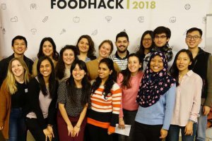 vignette FIPDes students won the Greater CPH FoodHack 2018 !