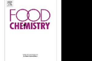 vignette Publication in Food Chemistry journal 2017